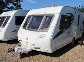 Sterling Eccles 90 2009 2 Berth Caravan + Service History + Separate Shower + 3 Months Warranty Included
