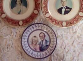 Box of royalty memorabilia