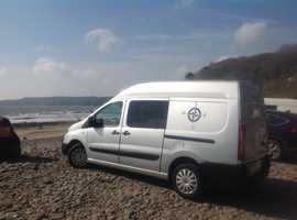 FIAT SCUDO LONG WHEEL BASE HIGH TOP 2000CC DIESEL CAMPER