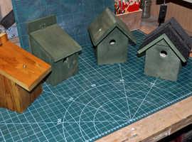 Bird nesting boxes.