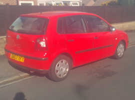 Volkswagen Polo, 2003 (03) Red Hatchback, Automatic Petrol, 60,250 miles