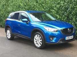 Mazda CX-5, 2013 (63) Blue Estate, Manual Diesel, 80,000 miles