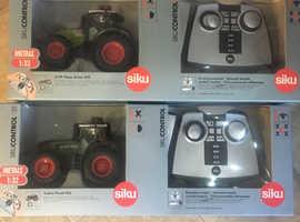 Remote control tractors