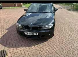 BMW 1 series, 2009 (09) Black Hatchback, Automatic Diesel, 145,000 miles