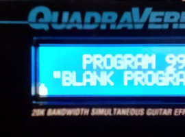 Alesis Quadraverb GT; Boxed, and in almost new condition - (For Guitar, Bass, Keyboard, Drums, Mic, Mixing etc.)