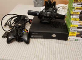 XBOX 360 S 250GB 76 GAMES