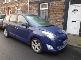 Renault Grand Scenic, 1.6DCi, 130BHP,  30 quid tax, 7 seats, December 2011 (61plate) Blue MPV, Manual Diesel, 71,250 miles