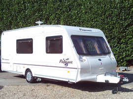 Bailey pageant champagne 2004 four berth touring caravan, good condition lots of accessories .