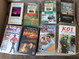 Video Tapes - free to collector
