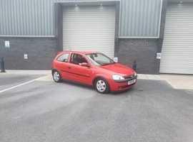 Vauxhall Corsa, 2001 (Y) Red Hatchback, Manual Petrol, 45,000 miles