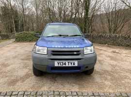 Land Rover FREELANDER GS, 2001 (Y), Manual Diesel, 159,000 miles