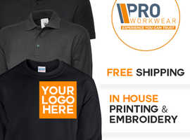 Pro Workwear - Your one stop shop for uniforms, workwear, hi vis and personalised clothing.