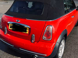 Mini MINI, 2004 (54) Red Convertible, Manual Petrol, 82,000 miles