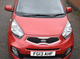 Kia Picanto, 2013 (13) Red Hatchback, Manual Petrol, 21,233 miles, a must have car for newly qualified driver.