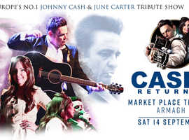 CASH RETURNS | Johnny Cash & June  Carter Live Show | ARMAGH