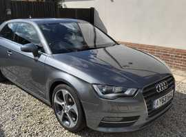 Audi A3, 2013 (63) Grey Hatchback, Manual Petrol, 58,600 miles