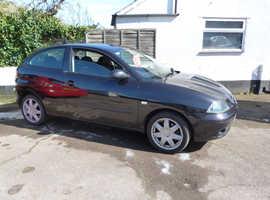 Seat Ibiza, 2004 (04) Black Hatchback, Manual Petrol, 90,000 miles