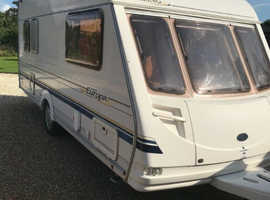 sterling europa 500 5 berth 2001 with awning very clean and well looked after ,