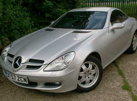 Mercedes Slk, 2008 (57) Silver Convertible, Manual Petrol.
