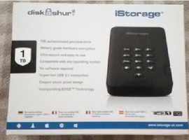 iStorage DiskAshur² 1TB hard drive