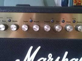 Marshall half-stack (100watt head & 200 watt cab)