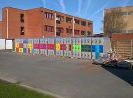 Colourful and Durable Industrial Lockers