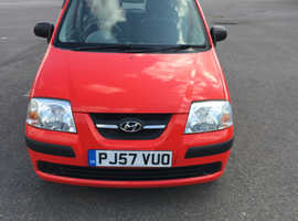 Hyundai Amica, 2007 (57) Red Hatchback, Manual Petrol, 40,000 miles