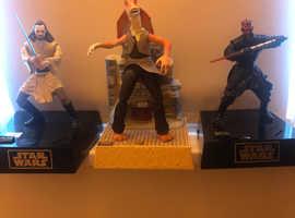 Thinkway Star Wars statues