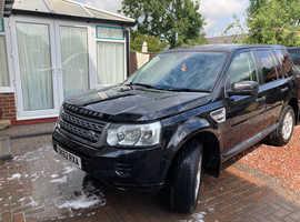 Land Rover Freelander, 2012 (62) Black Estate, Manual Diesel, 135,480 miles