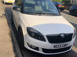 Skoda Fabia, 2013 (13) white hatchback, Manual Diesel, 101,000 miles