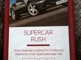 Supercar Rush Experience