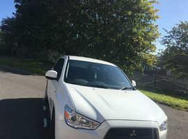 Mitsubishi Asx, 2011 (61) White Hatchback, Manual Diesel, 85,000 miles