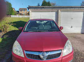 Vauxhall Vectra, 2007 (57) Red Hatchback, Manual Petrol, 107,000 miles
