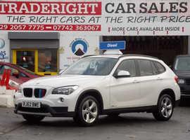 BMW X1, 2012 (62) White Estate, Manual Diesel, 63,212 miles