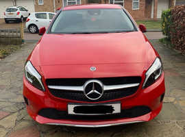 Mercedes A-CLASS, 2017 (17) Red Hatchback, Manual Diesel, 16,000 miles