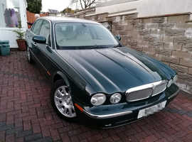 Jaguar XJ6 V6 3.0, 2003 (53) British Racing Green Saloon, Automatic Petrol, 86,000 miles