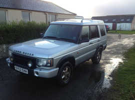Land Rover Discovery, 2002 (52) Silver Estate, Manual Diesel, 195,664 miles