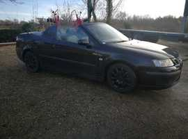 Saab 9 3, 2007 (07) Black Convertible, Manual Diesel,  miles  cat d