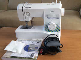 Hardly used, Brother sewing machine
