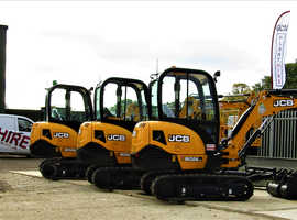 Diggers, Dumpers, Rollers and many other small plant machines available for Hire!