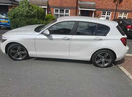 BMW 1 series, 2013 (13) White Hatchback, Manual Petrol, 32,360 miles