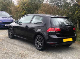Volkswagen Golf, 2014 (14) black hatchback, Manual Diesel, 77,000 miles