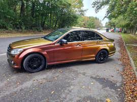 Mercedes C CLASS, 2010 (60) colour changing wrap  Saloon, Manual Diesel, 125,598 miles
