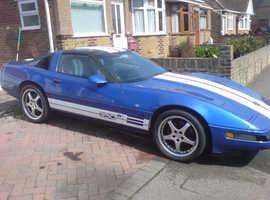 Chevrolet Corvette, 1994 (L) Blue Coupe, Automatic Petrol, 73,000 miles