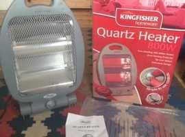 Quartz heater; plug in