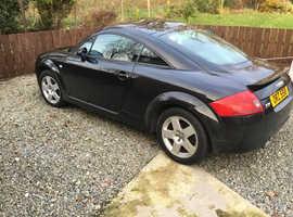 Audi TT COUPE QUATTRO, 2002 68) Black Coupe, Manual Petrol, 110,000 miles