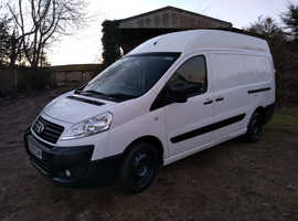 Fiat Scudo Van (2009) White 157000 miles, Work Van