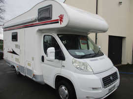 FIAT DUCATO SHARKY  2.2..  23000MILES .. 6 BERTH .. REAR BUNKS