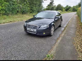 Audi A3, 2006 (06) Black Hatchback, Manual Diesel, 142 miles
