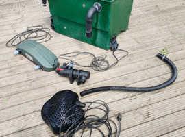 kockney koi filter box &pump